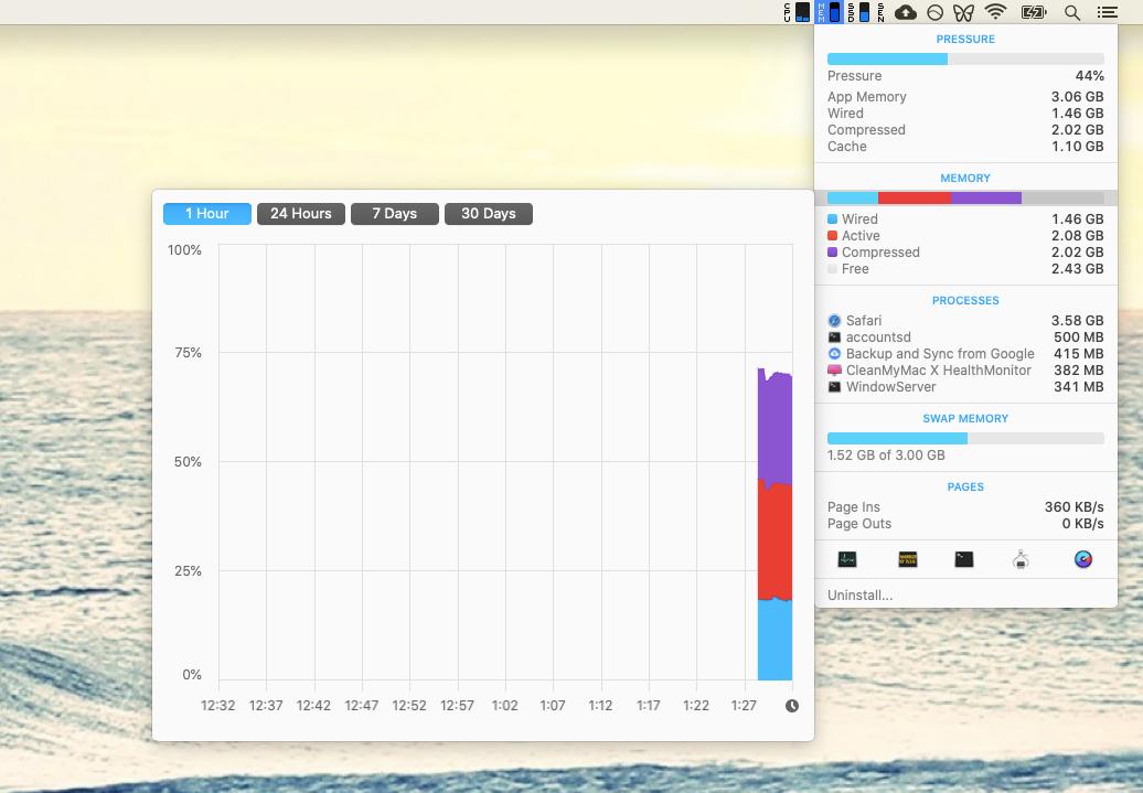 iStat Menus monitor Mac utility