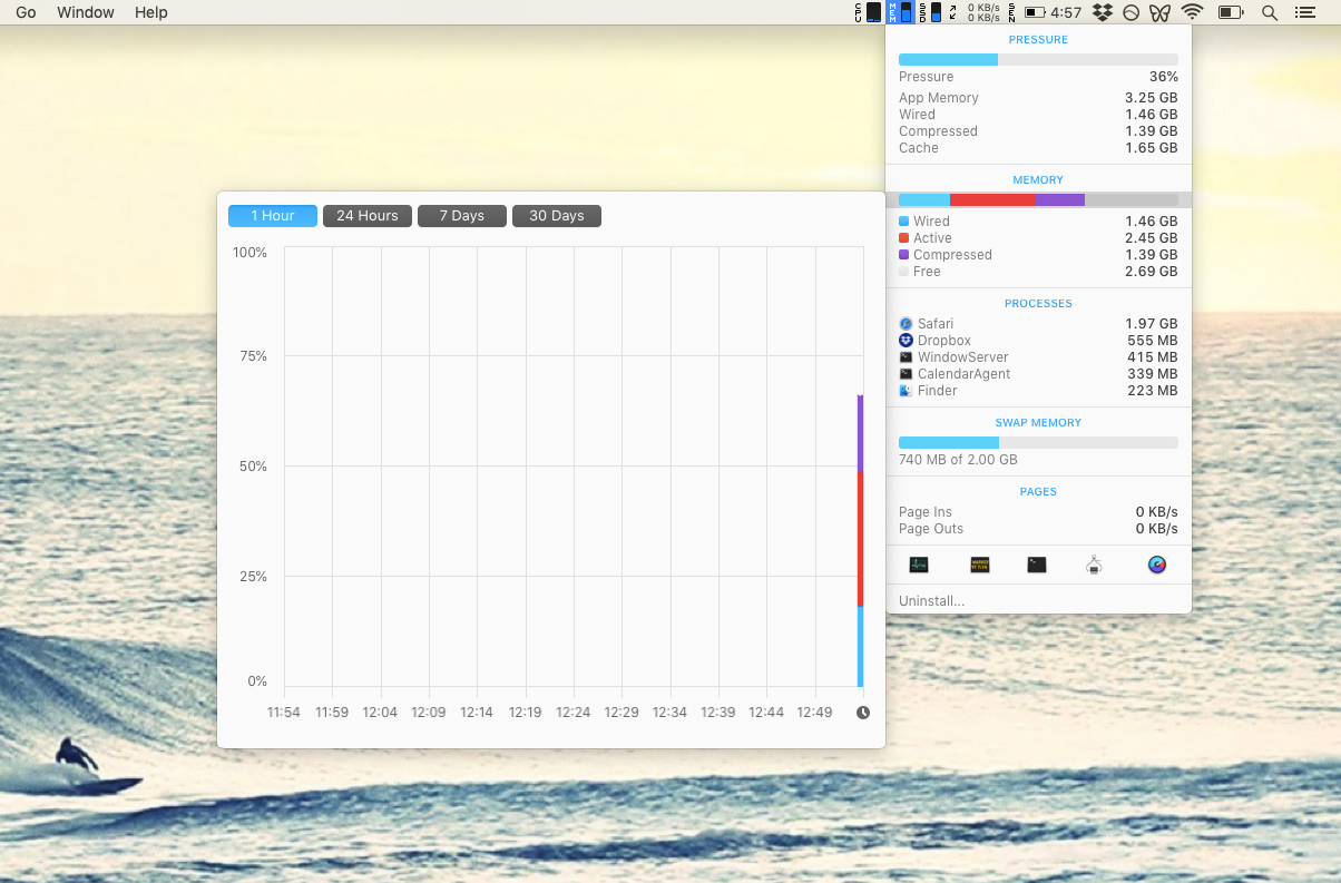 iStat Menus monitor performance Mac