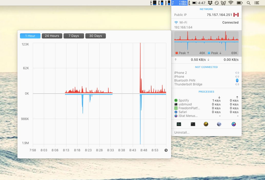 iStat Menus utility power scan Mac