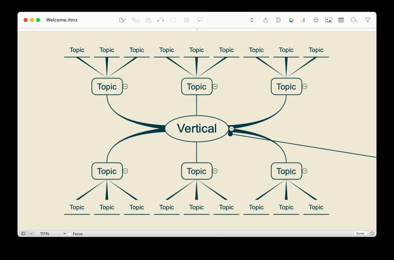 flowchart + brainstorming app for Mac