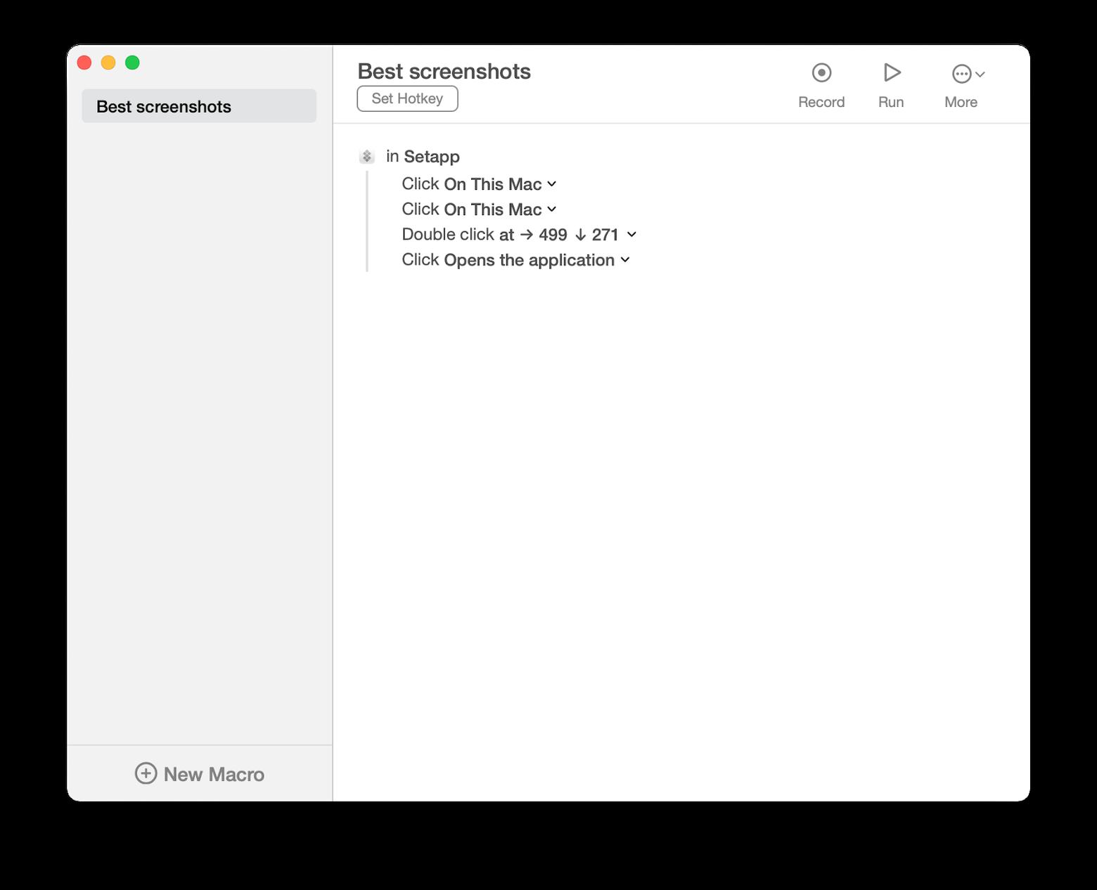 set your own shortcut key combinations
