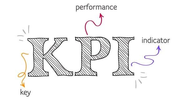 KPI metrics visual