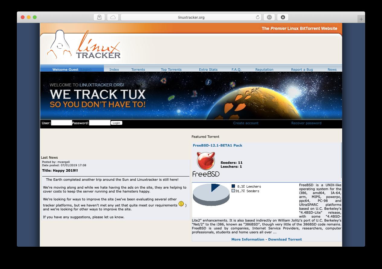 Linux torrent site mac