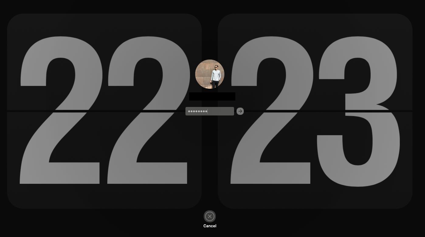 lock screen Mac password reset Apple ID