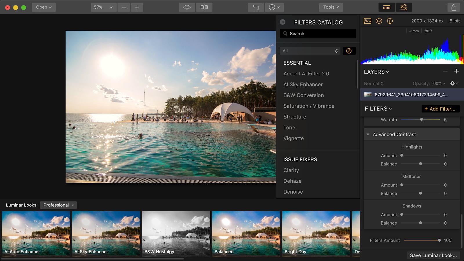 Luminar Flex smart photo editor