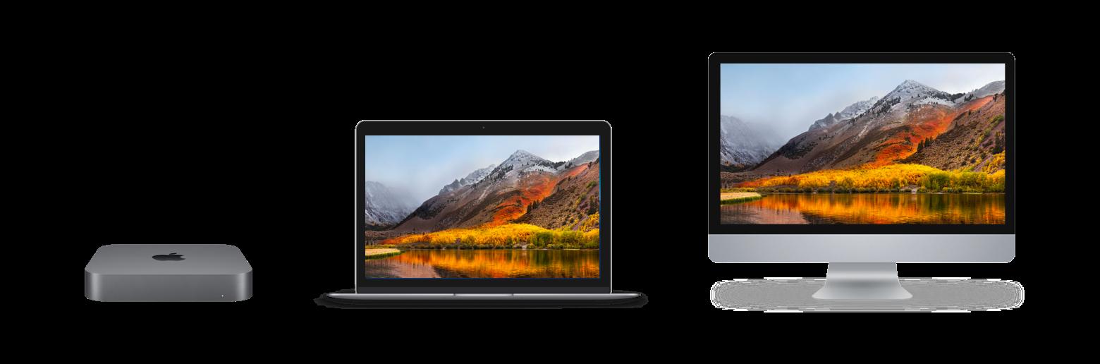 macOS Mojave compatible Macs