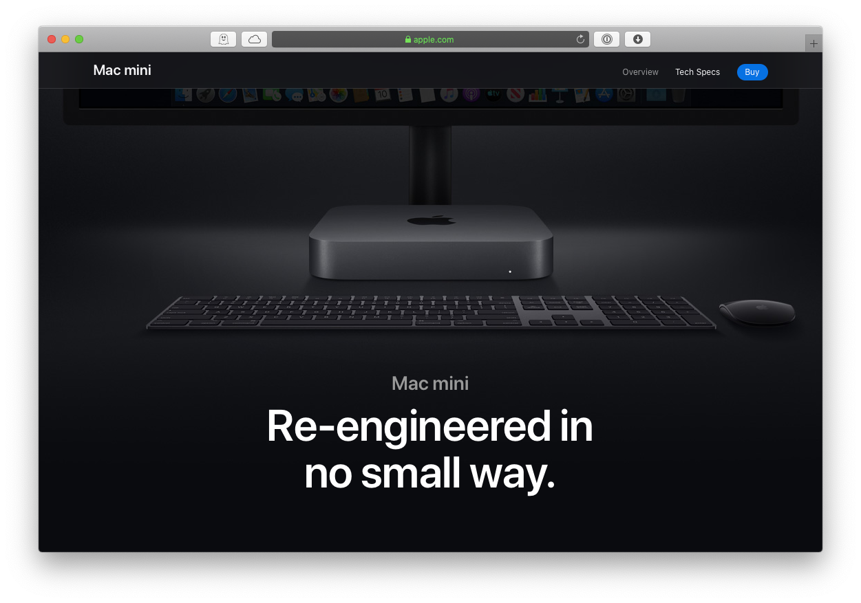Mac Mini video edits Apple