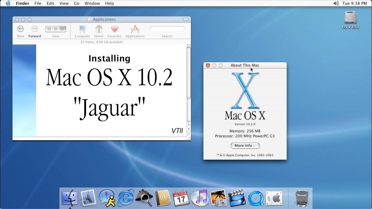 Mac OS X 10.2 (Jaguar)