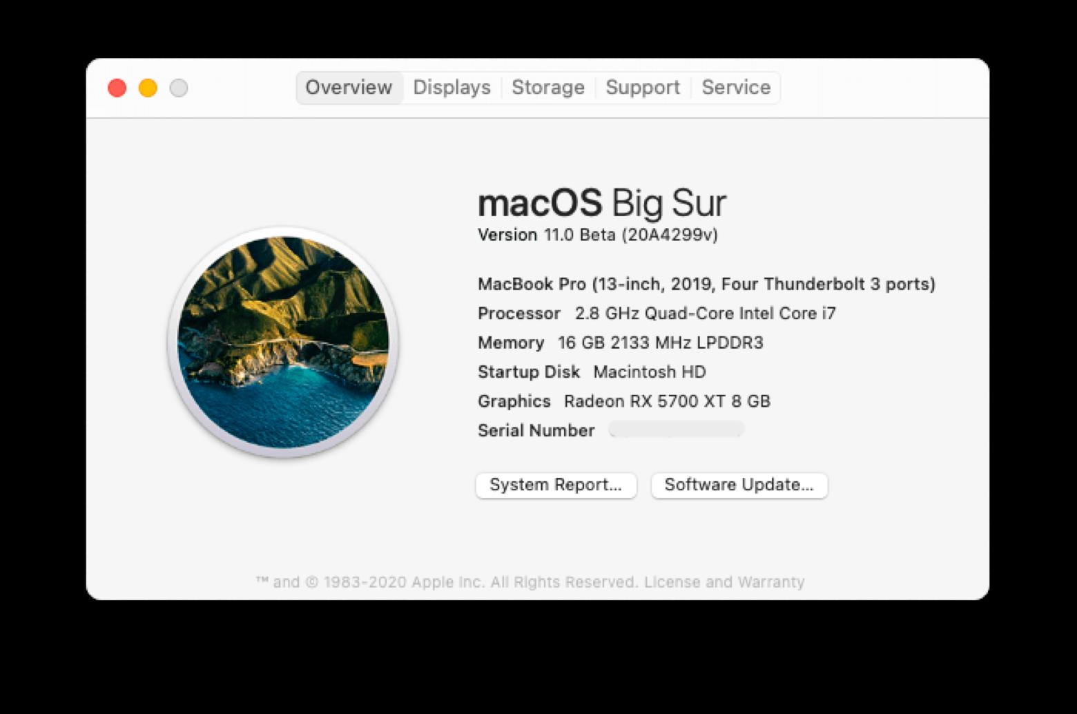 Software Update mac
