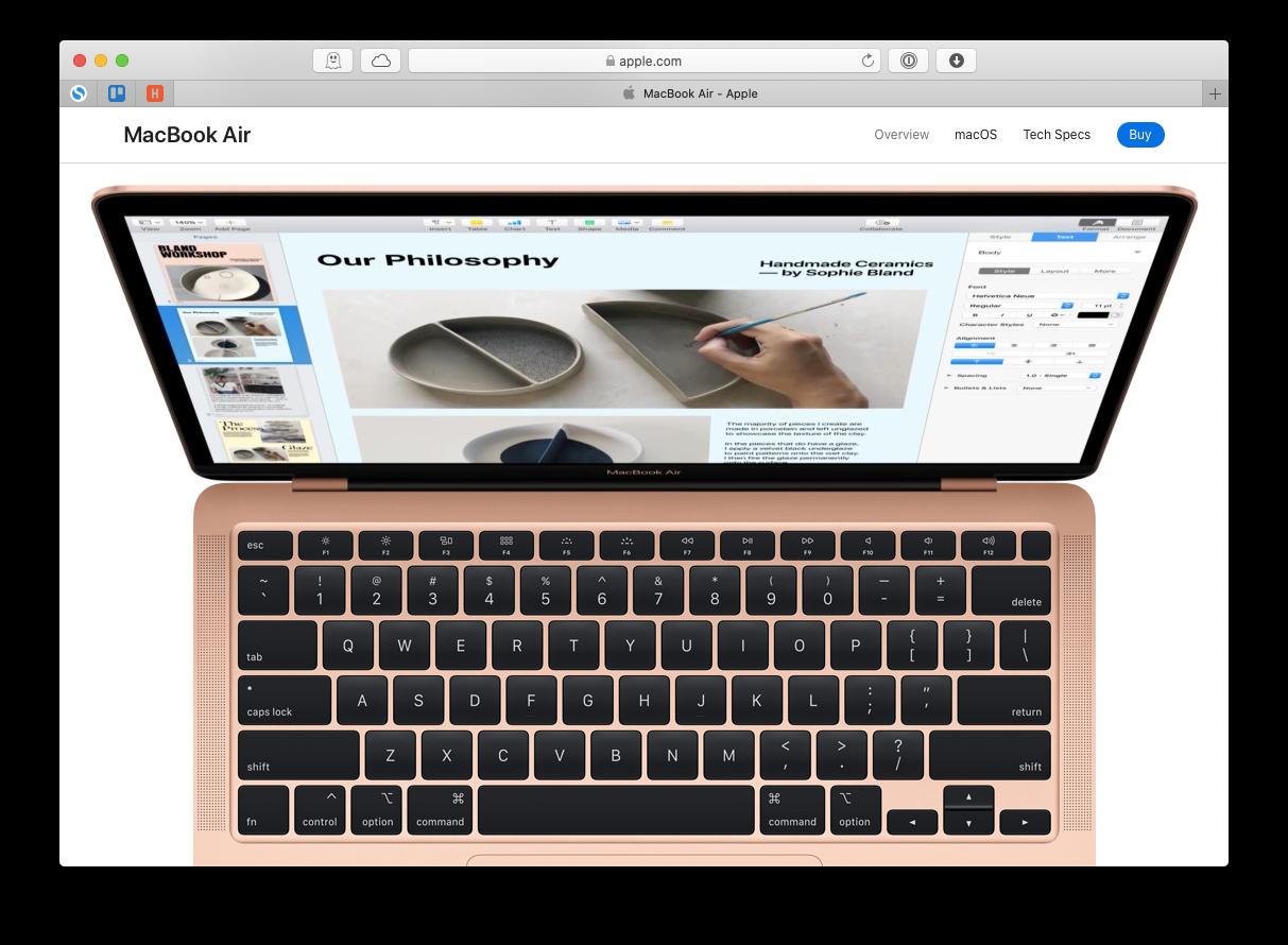 MacBook Air keyboard magic new