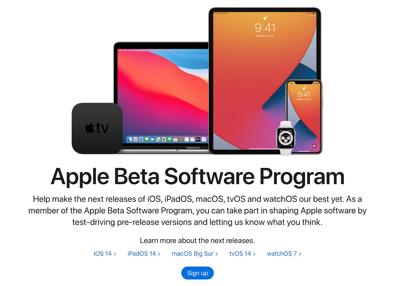 macOS 11 public beta