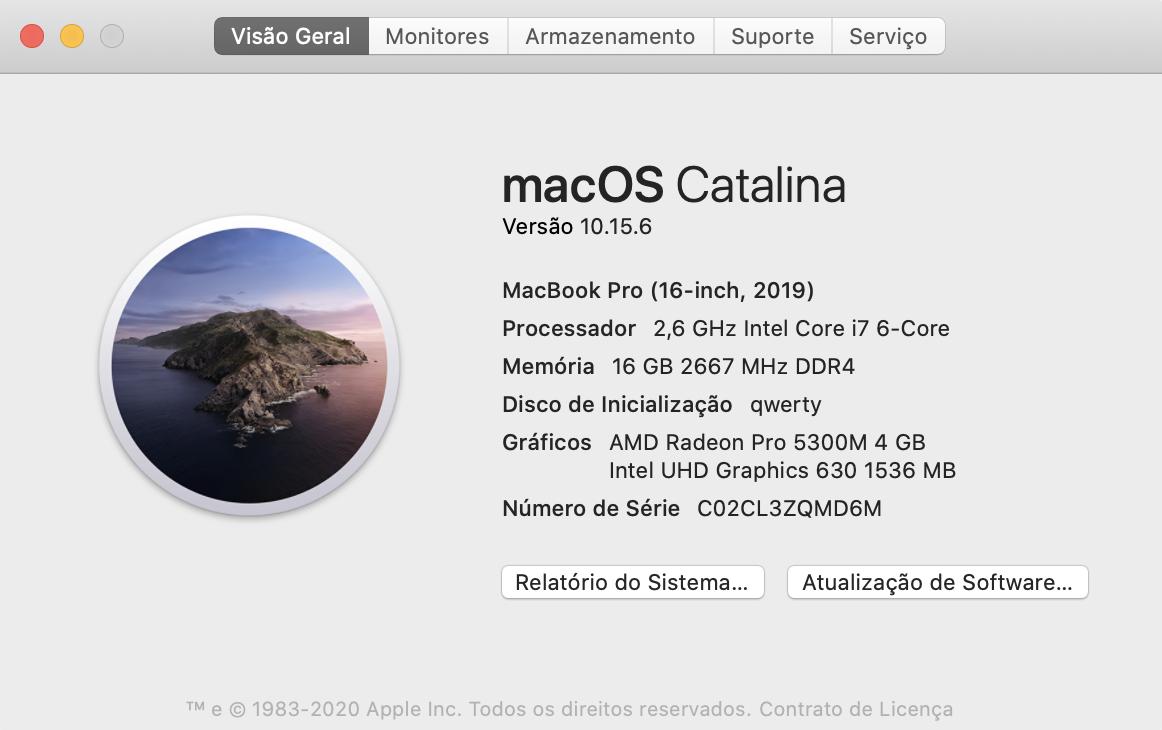 verificar versão do macOS