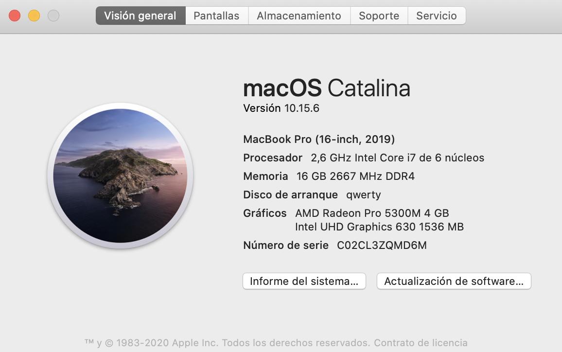 ¿cómo compruebo mi versión de macOS?