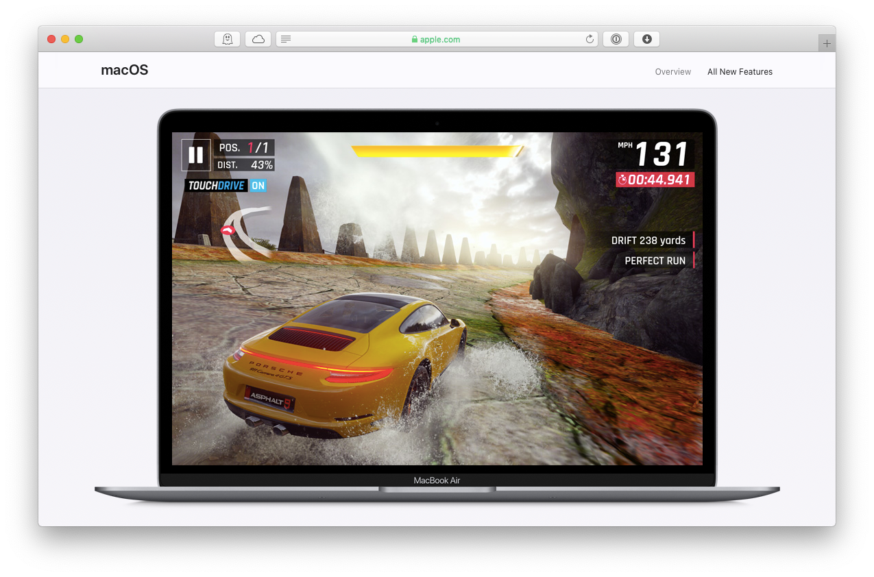 macOS gaming Windows hardware OS