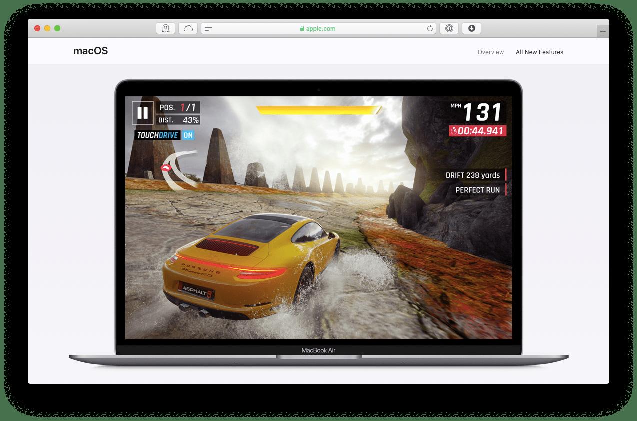 macOS gaming Windows hardware OS