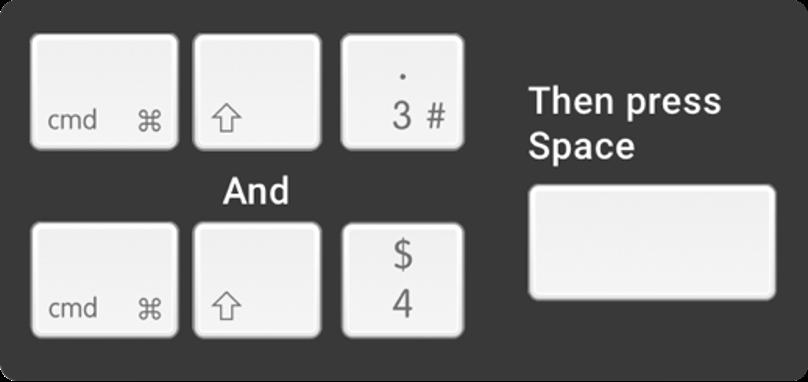 macOS screenshot shortcuts