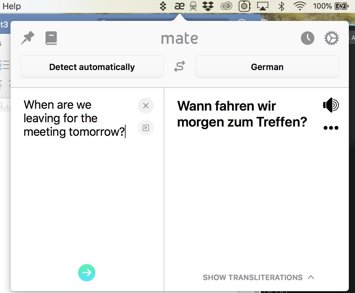 mate translate app