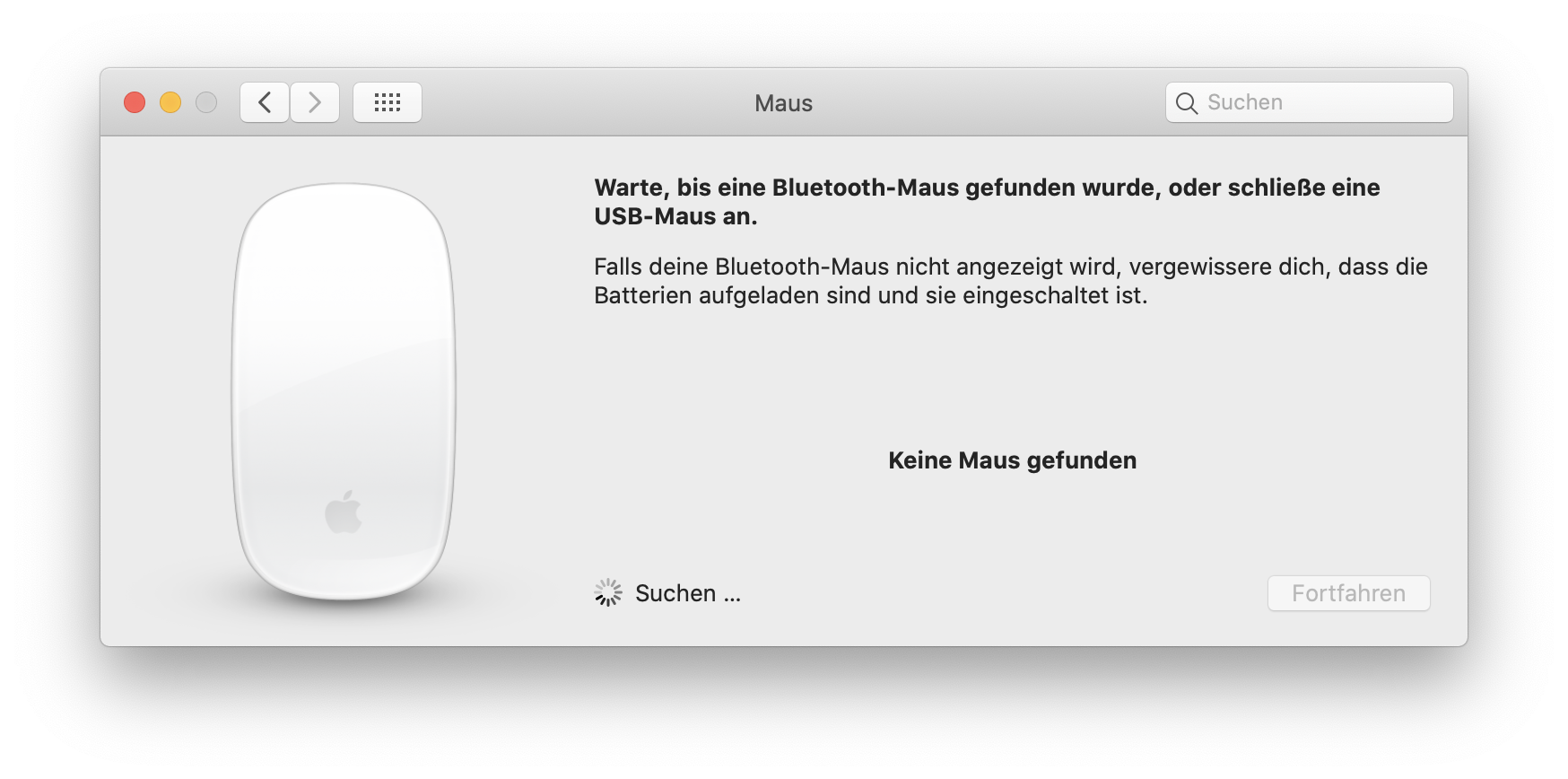 Maus Bluetooth Mac