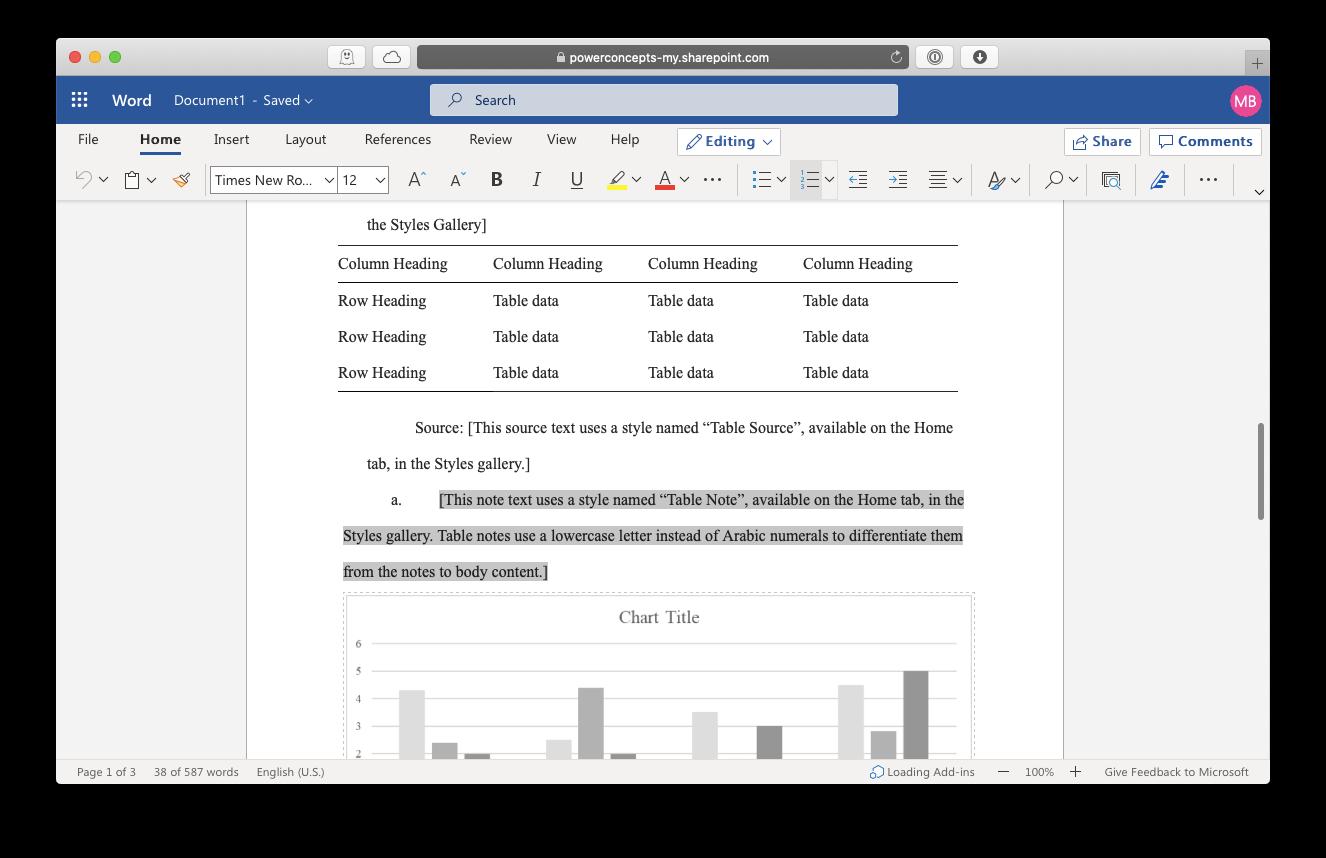 Microsoft Word online free Mac