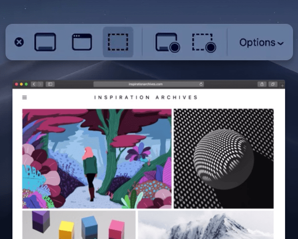 A new screenshot tool for Mojave