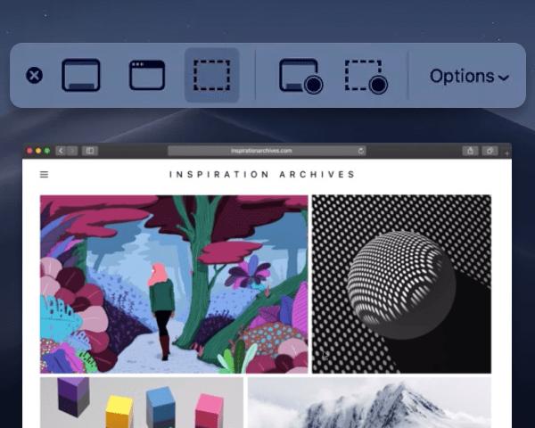 A new screenshot tool for Mojave