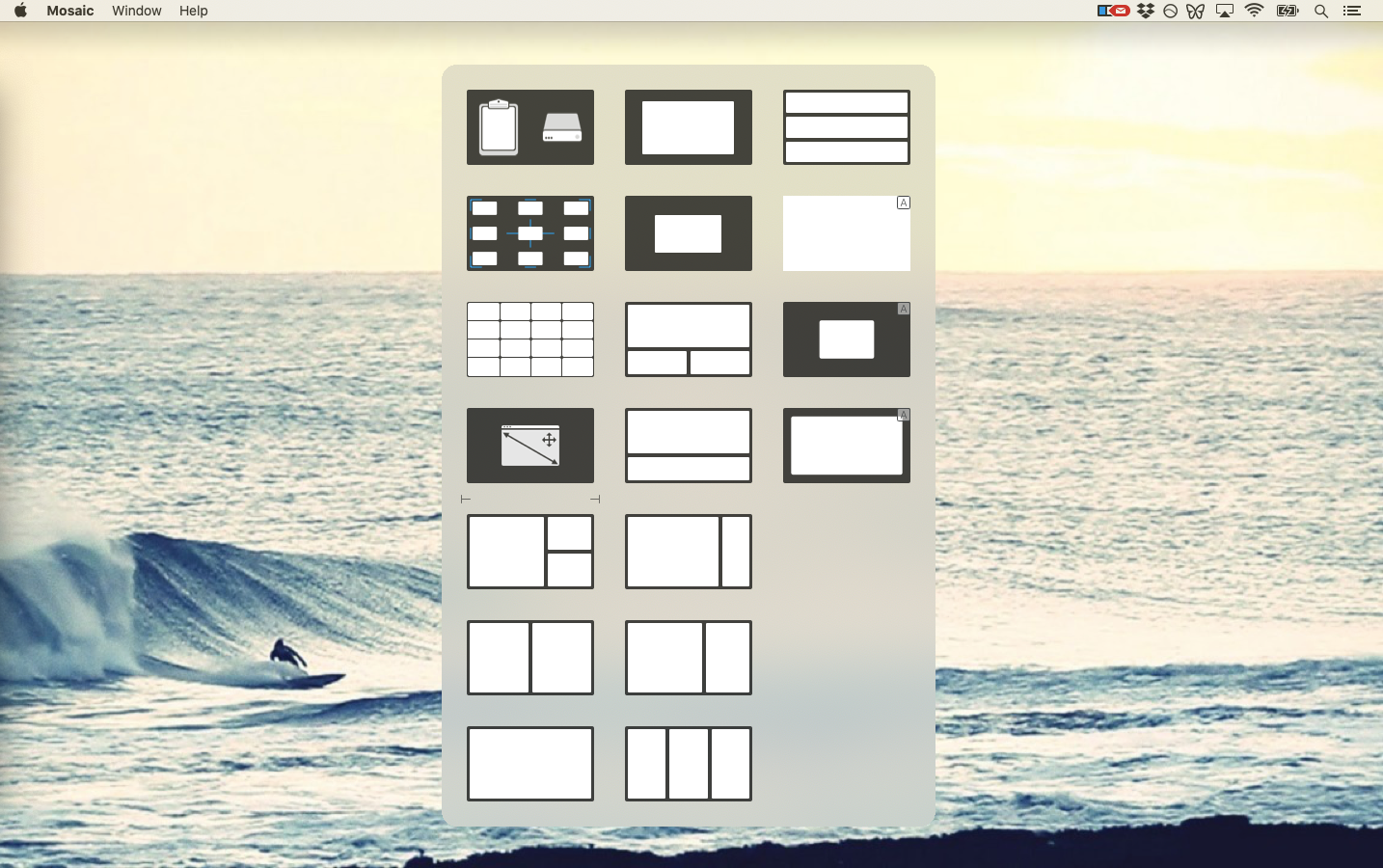 Mosaic app window manager Mac iPad