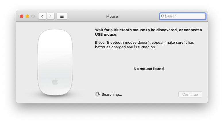 mouse bluetooth mac