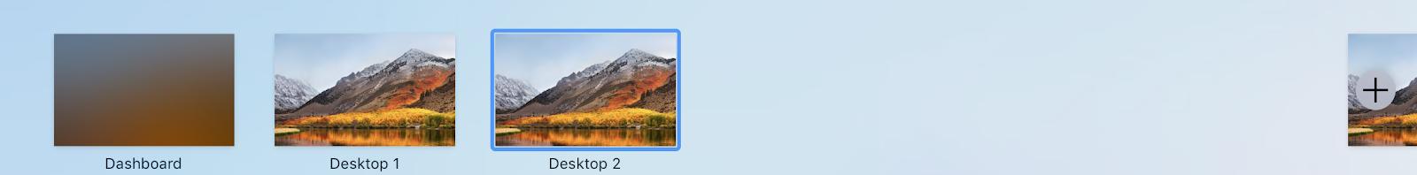 Apple's multiple displays