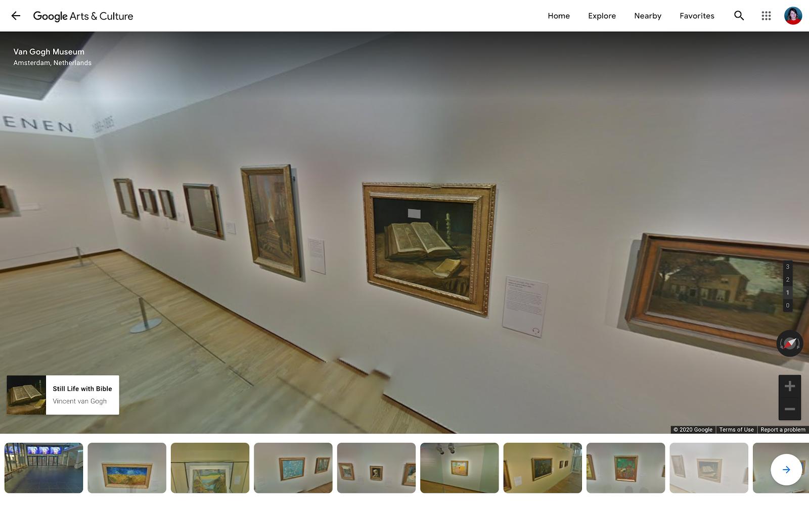 museum virtual tour