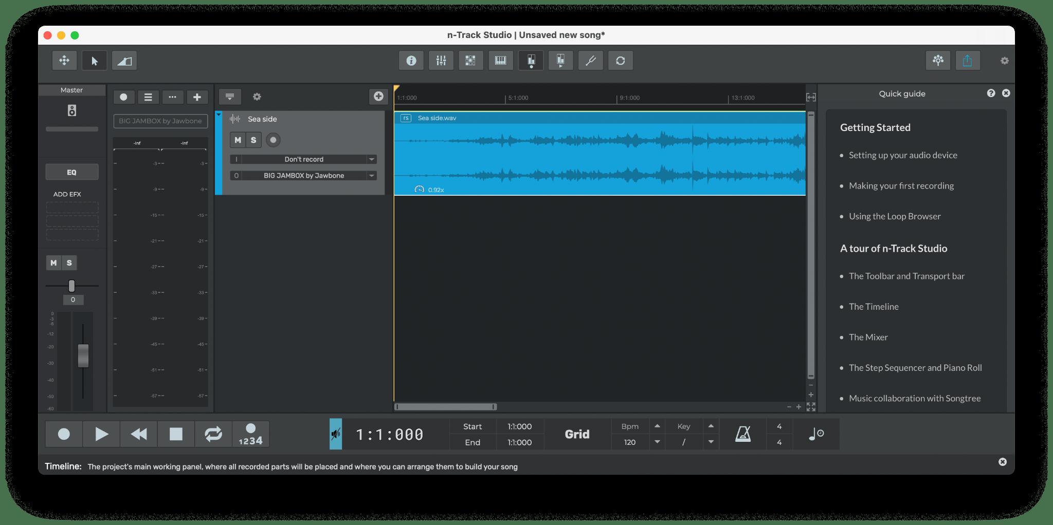 n track studio music mac