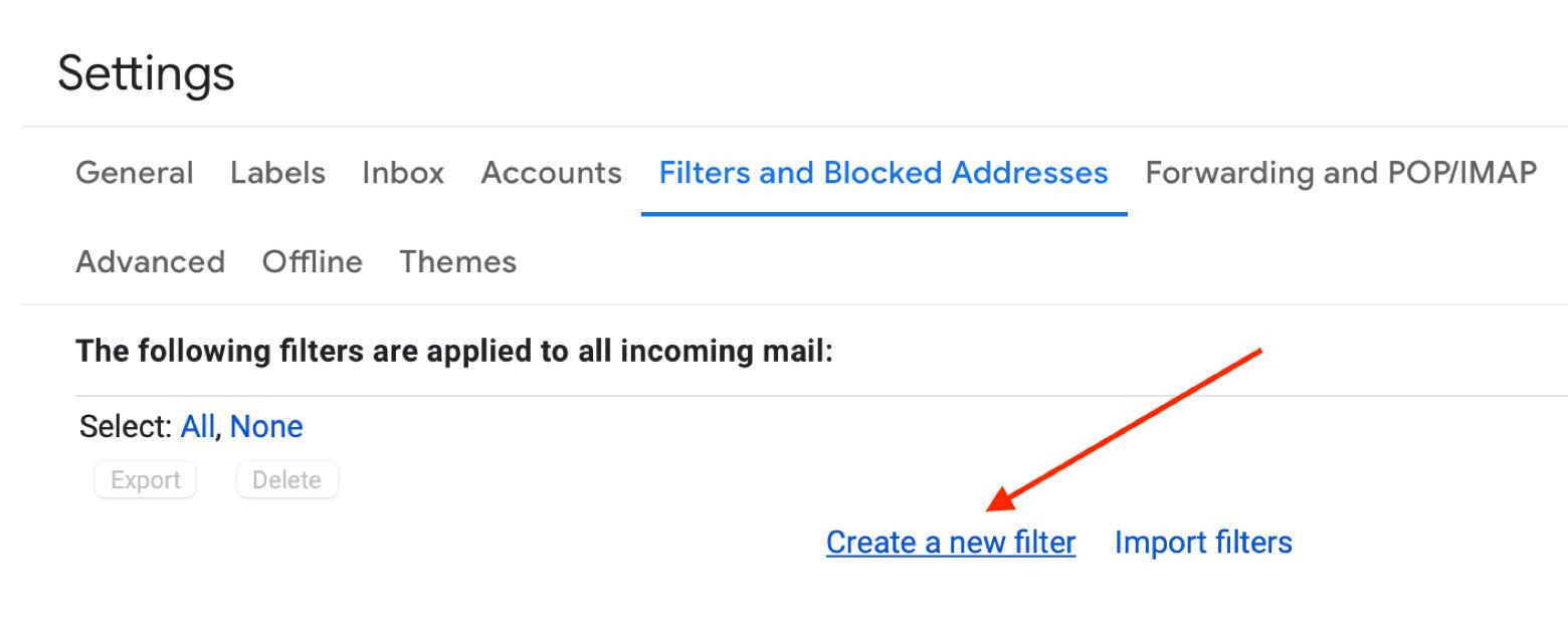 Create a filter