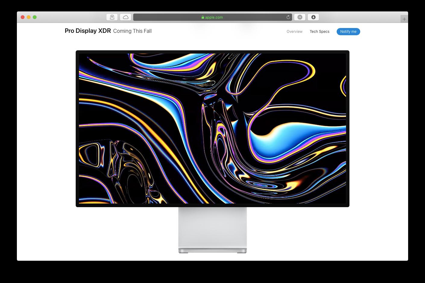 new mac pro display xdr