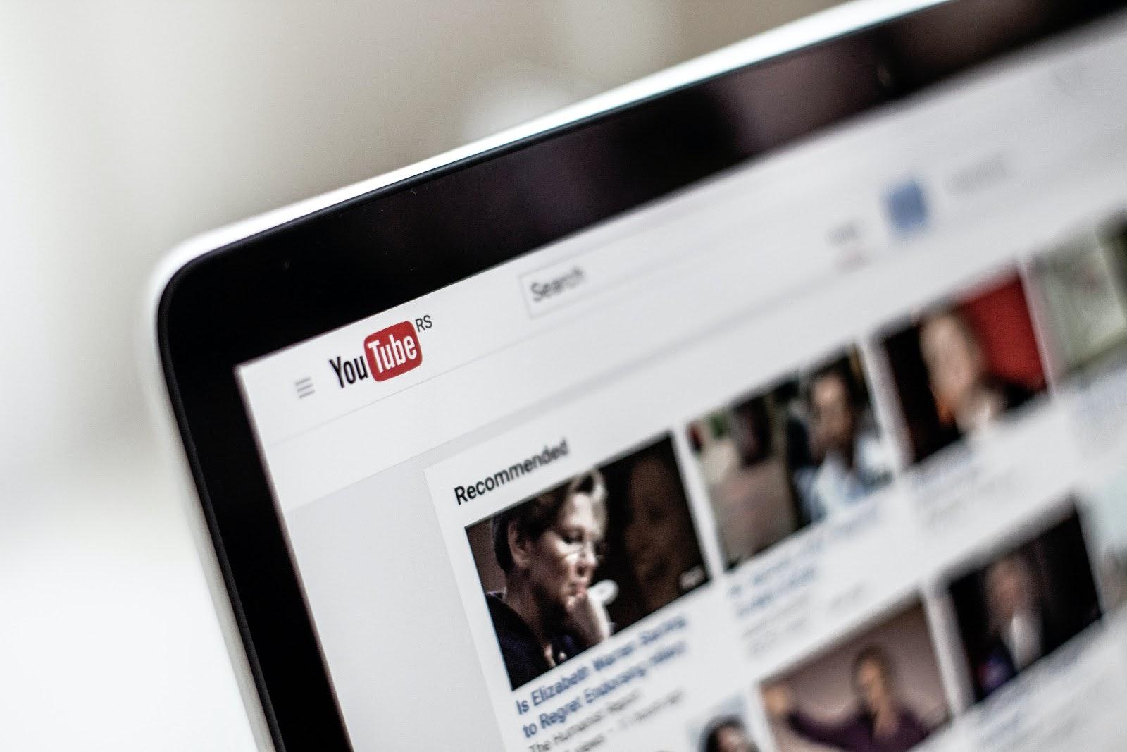 YouTube on Mac