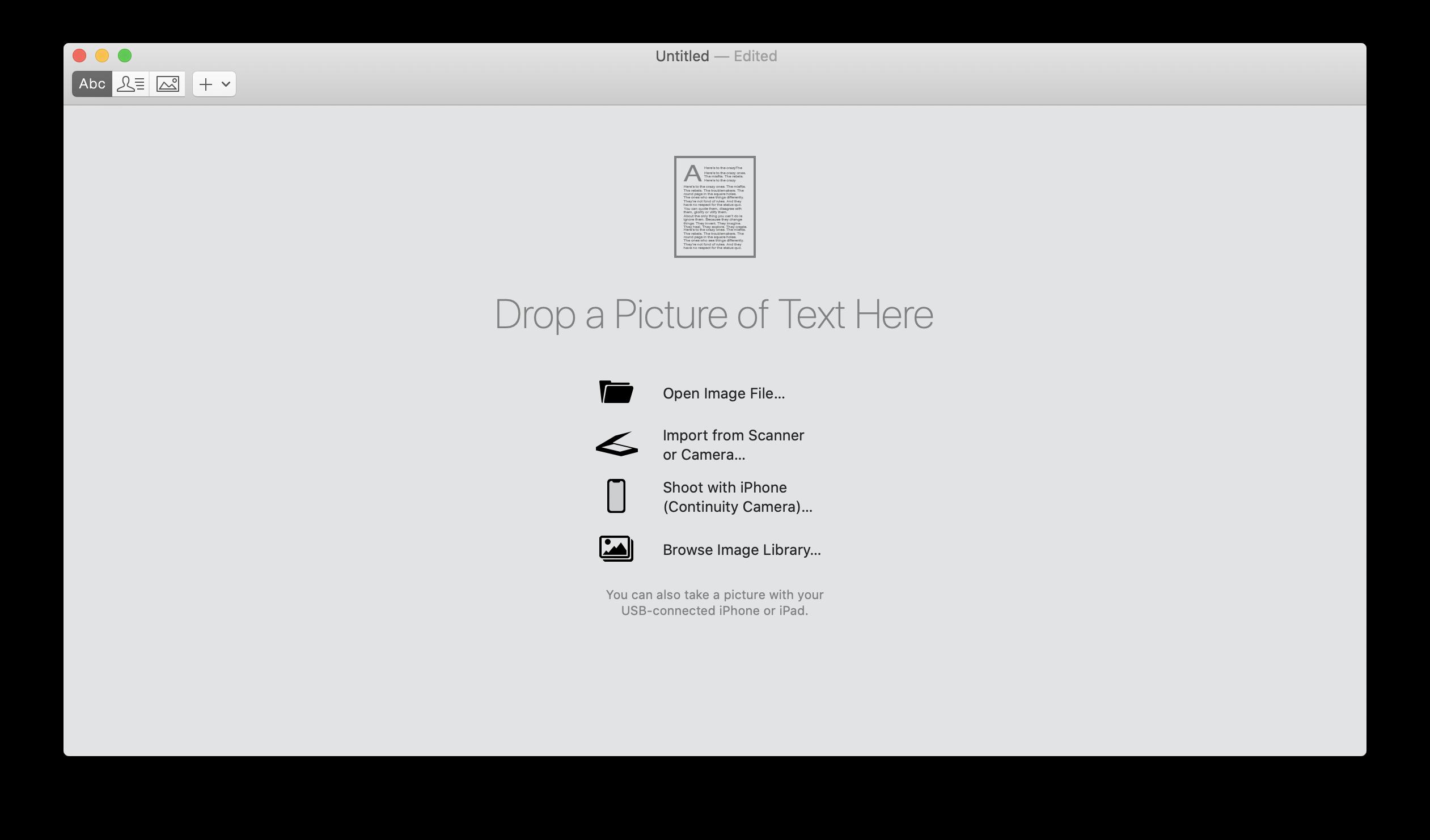 PDF-Bilddatei öffnen