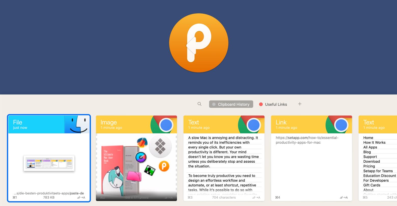 Paste app