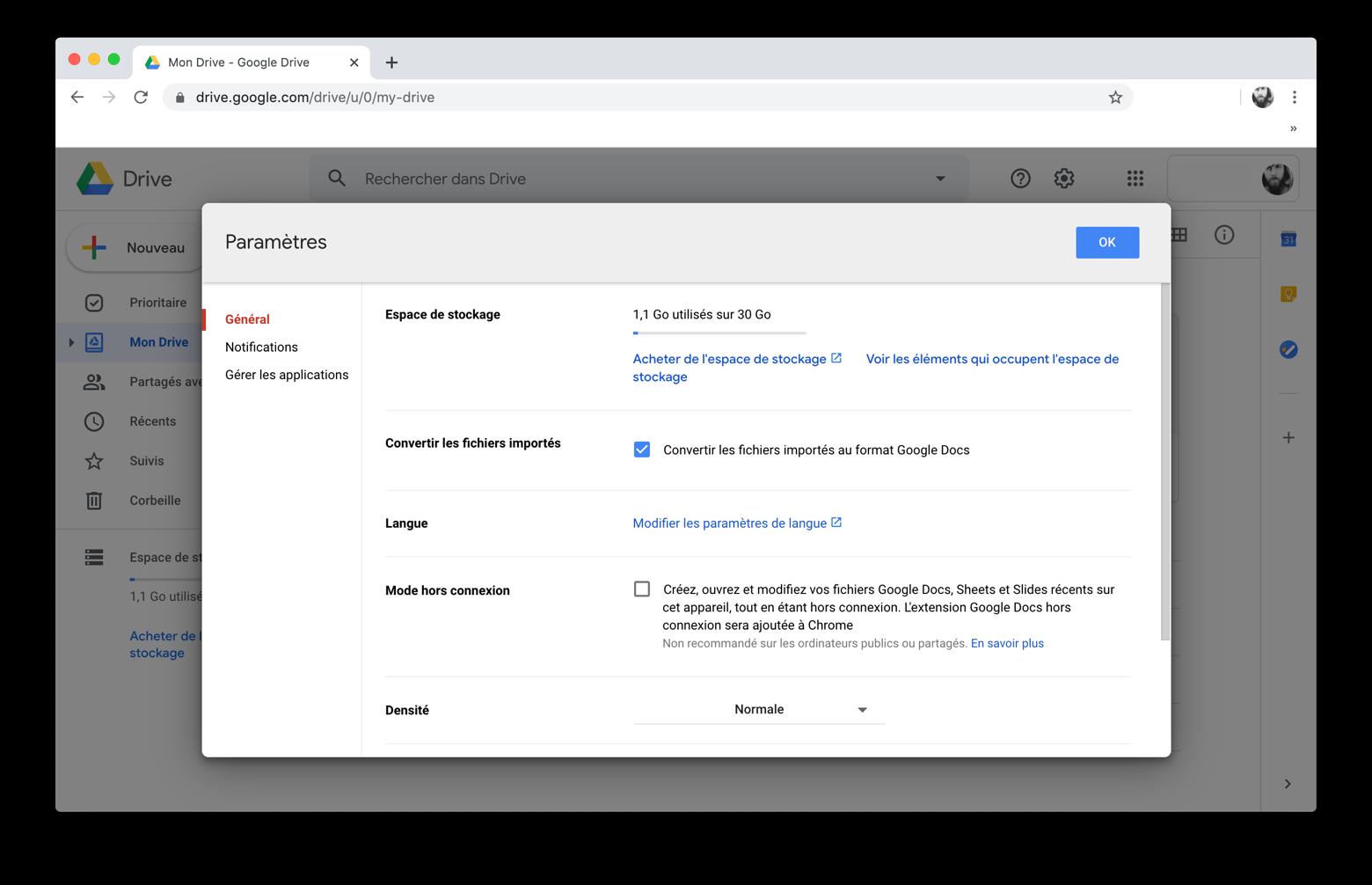 Convertir un fichier PDF au format Word avec Google Docs