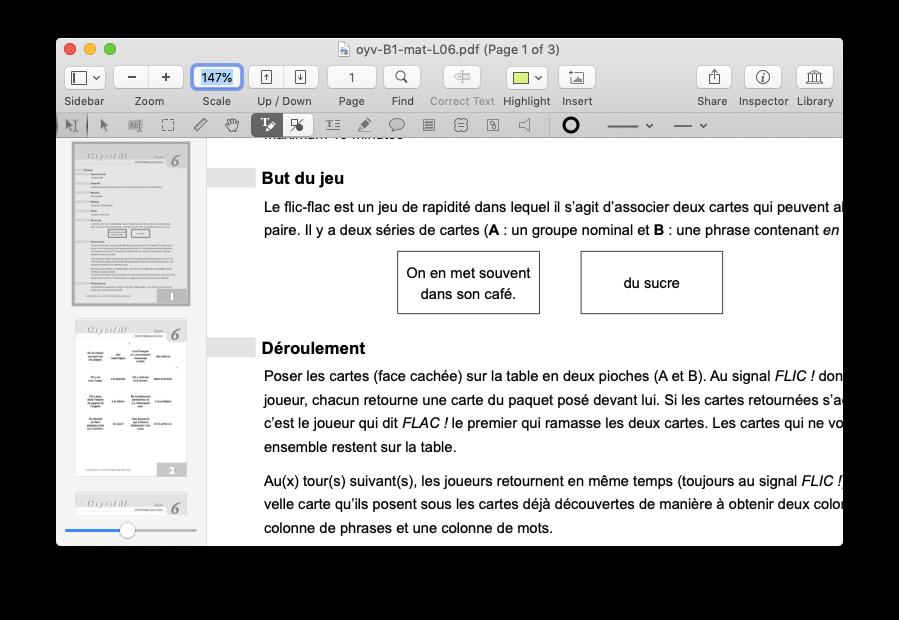 pdf pen mac document