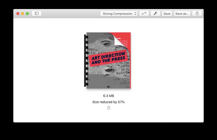 PDF Squeezer size Mac app file