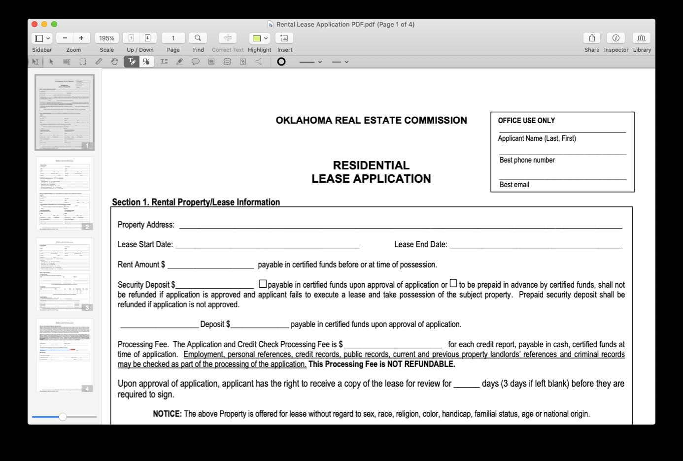 PDFpen app Mac edit PDF