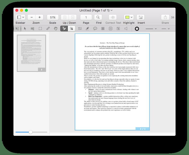 قم بتحويل وتحرير ملفات PDF في PDFpen