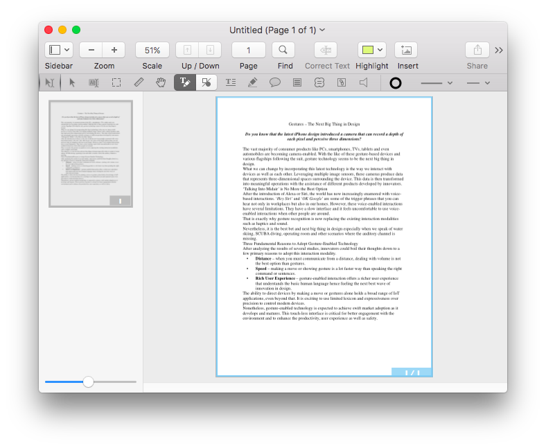 Convert and edit PDF in PDFpen