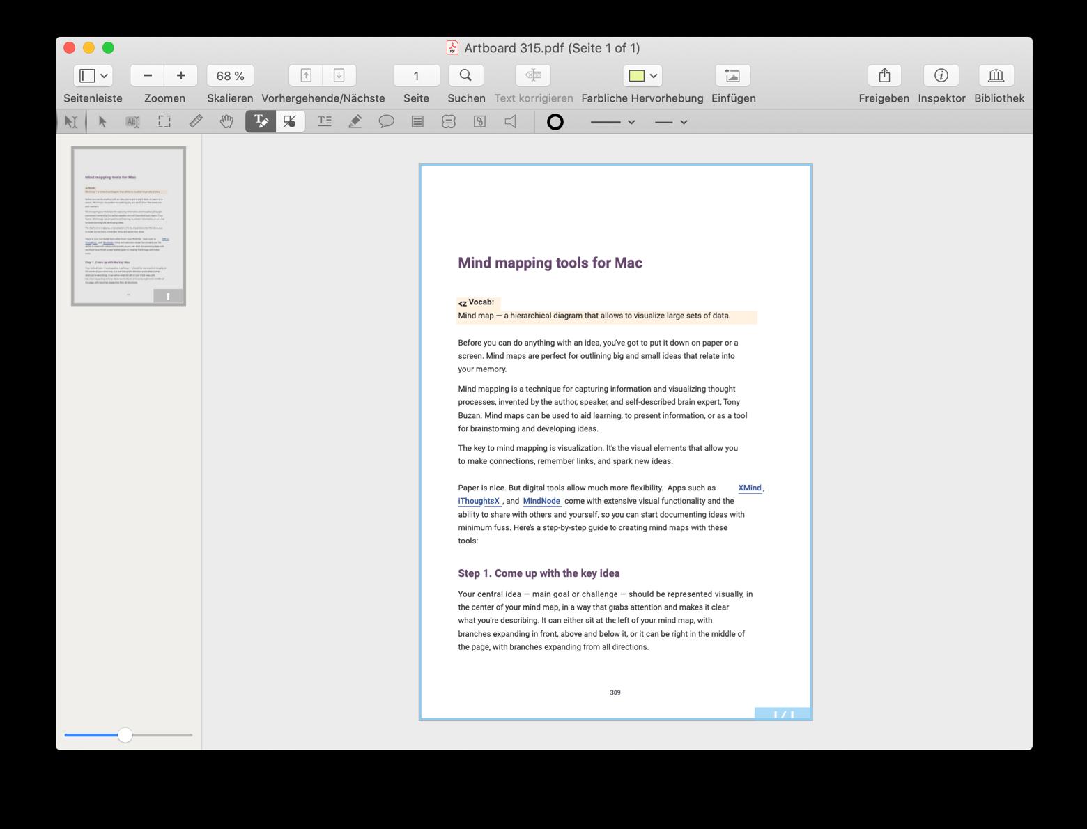 PDF-Dateien mit PDFpen konvertieren und bearbeiten