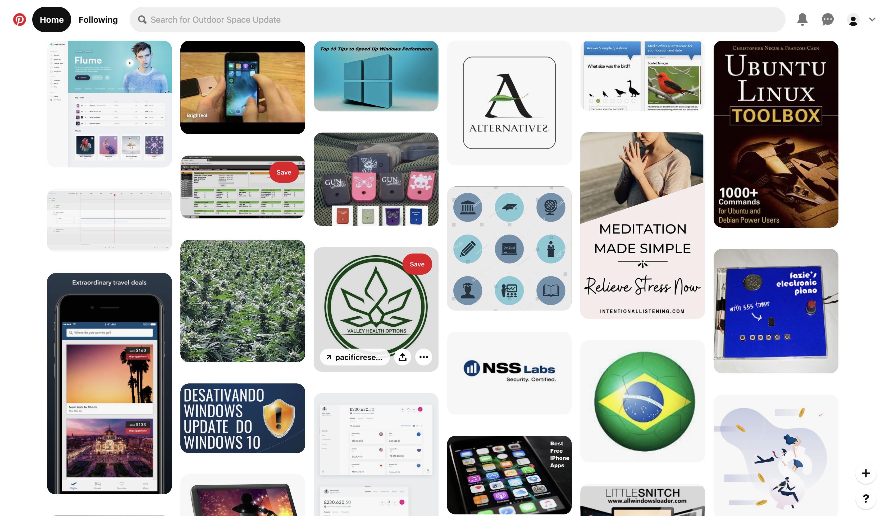Boards in Pinterest