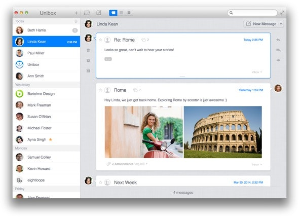Manage your emails