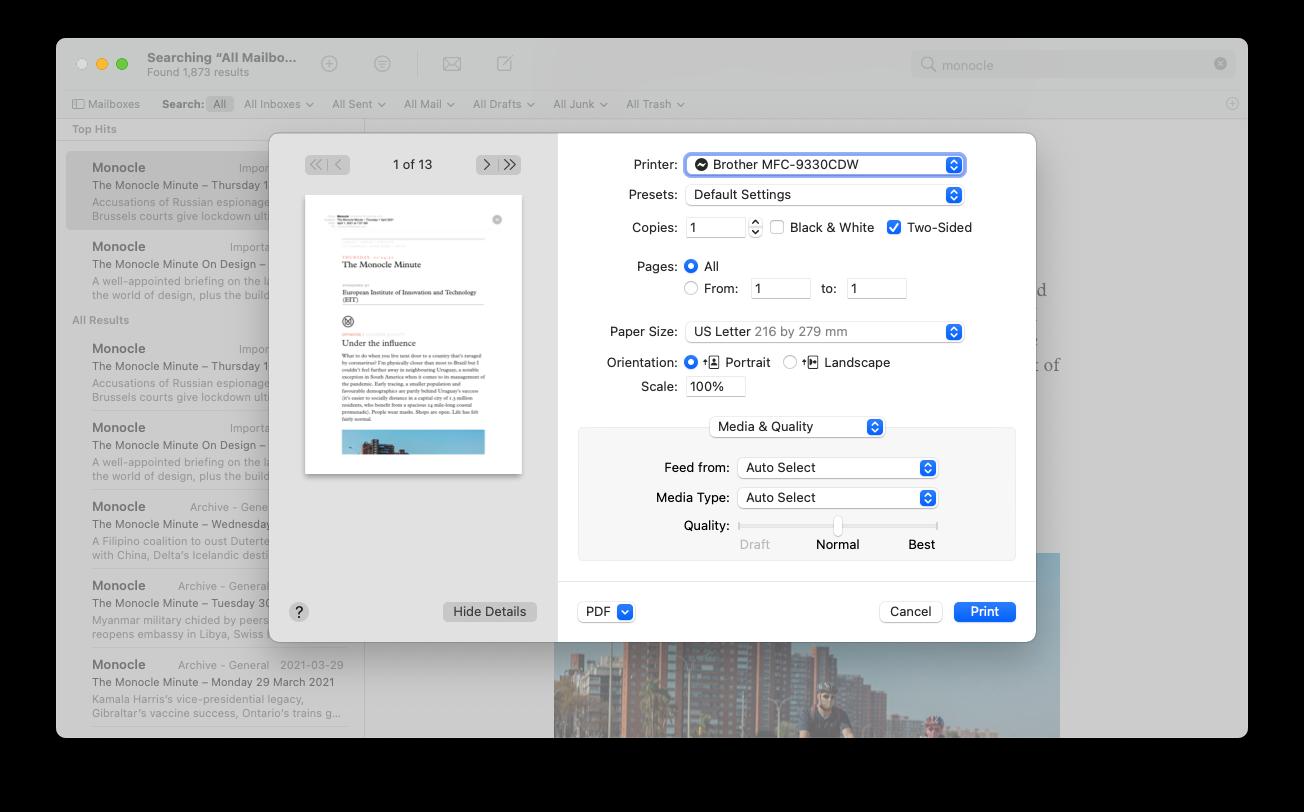 print-email-pdf-mac-mail-app