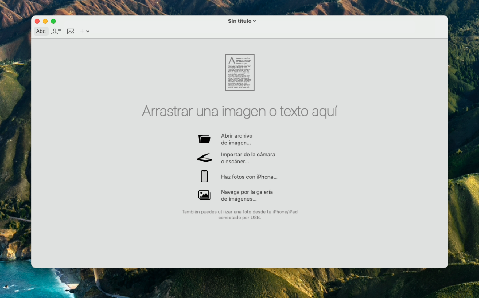 Open PDF Image File