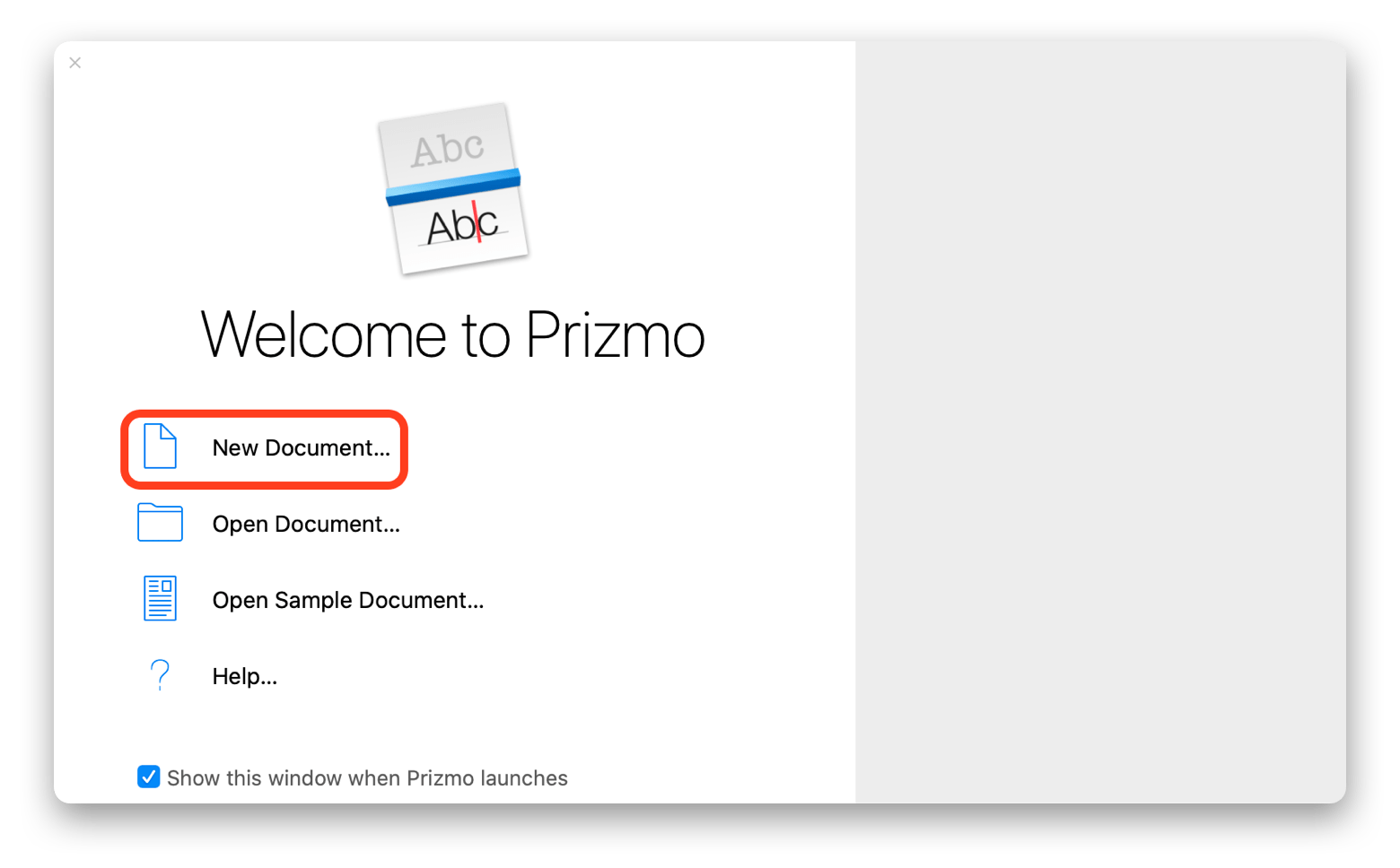 Prizmo convert JPG