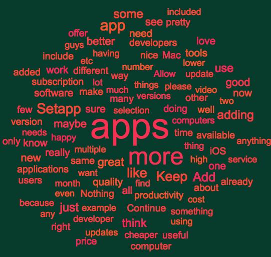 Cloud: improvement suggestions