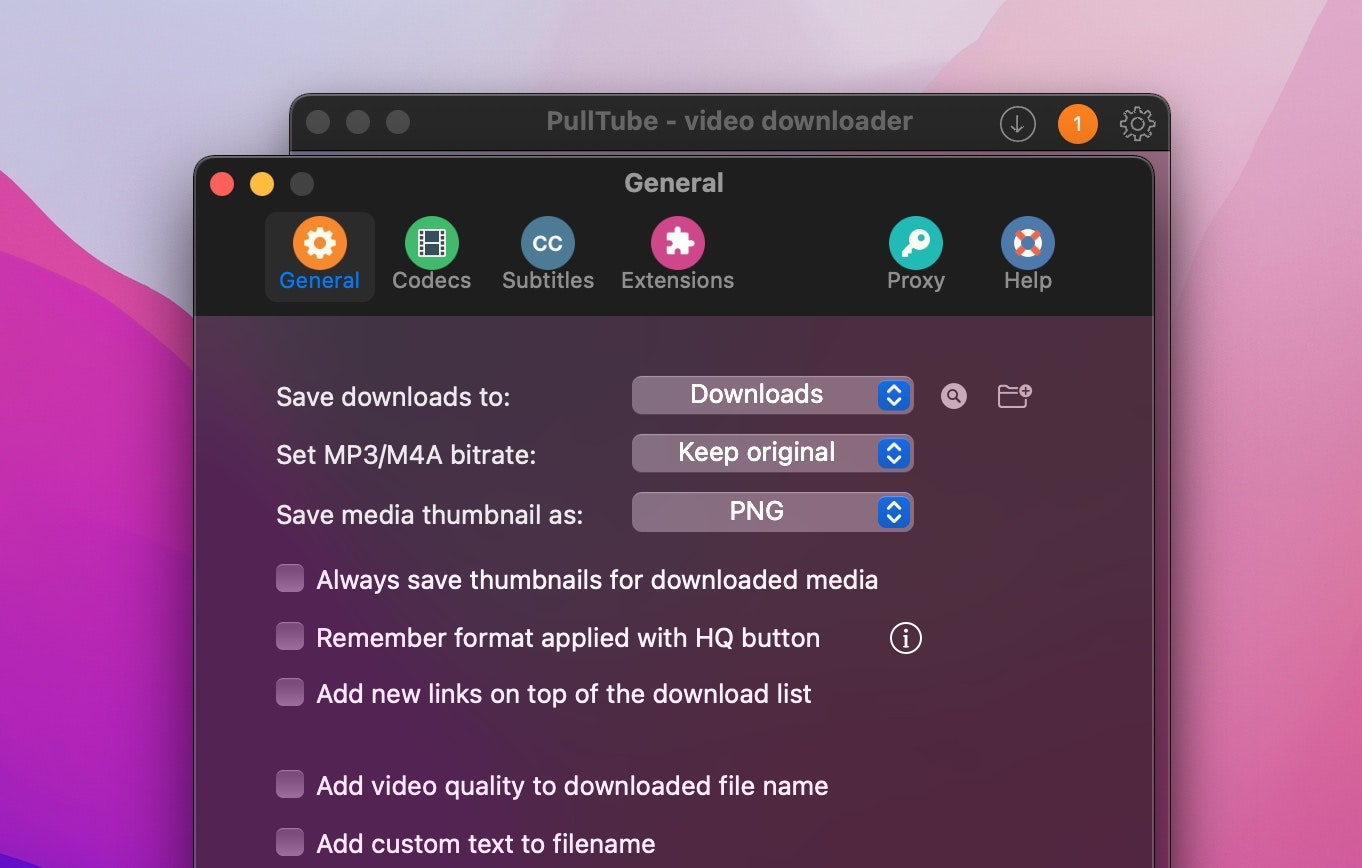Save YouTube downloads