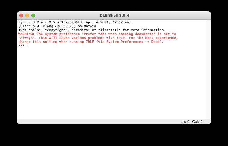 python-idle-editor-mac